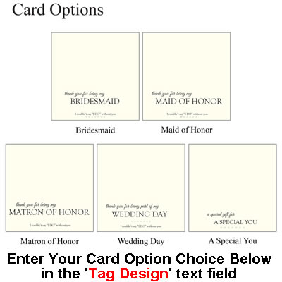 Bridal Card Options