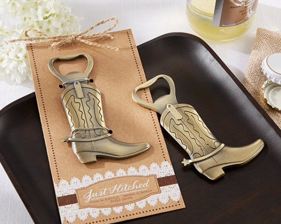 CLEARANCE Just Hitched Cowboy Boot Bottle Openerwholesale/11186NA_BootBO_L.jpg Wedding Supplies