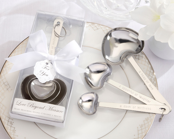 CLEARANCE Measuring Spoon In White Box  Weddings