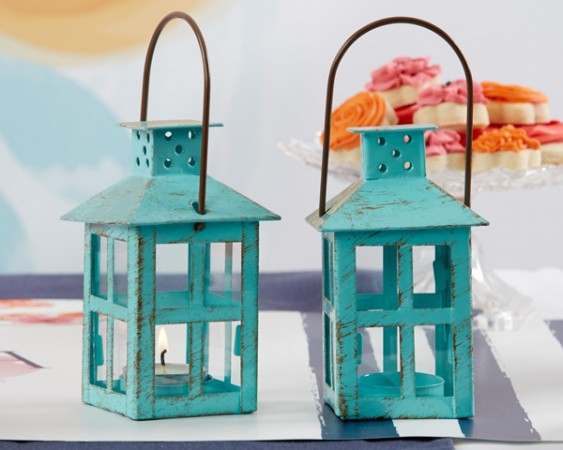 Vintage Blue Lanternwholesale/14110BL-blue-lantern-ka-l.jpg Wedding Supplies