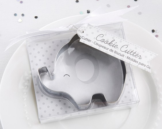 CLEARANCE Elephant Cookie Cutter - Little Peanut baby shower favors