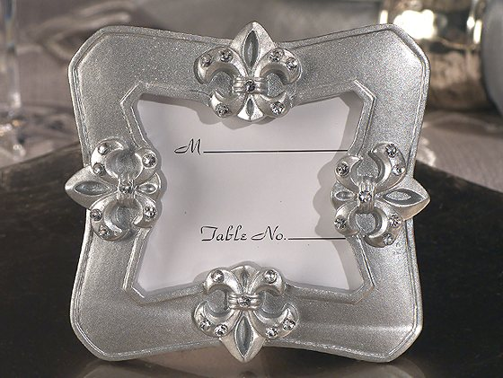Fleur De Lis Photo Frame Favorwholesale/1769.jpg Wedding Supplies