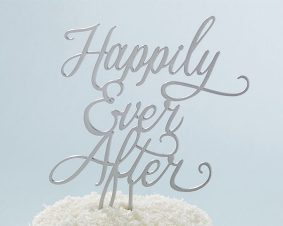 HAPPILY EVER AFTER CAKE TOPPER200  Weddings