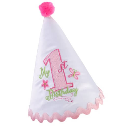 First Birthday Cap - Pink  Weddings