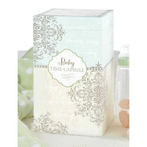 Baby Time Capsule baby shower favors