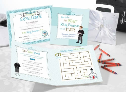 Ring Bearer Activity Book200  Weddings