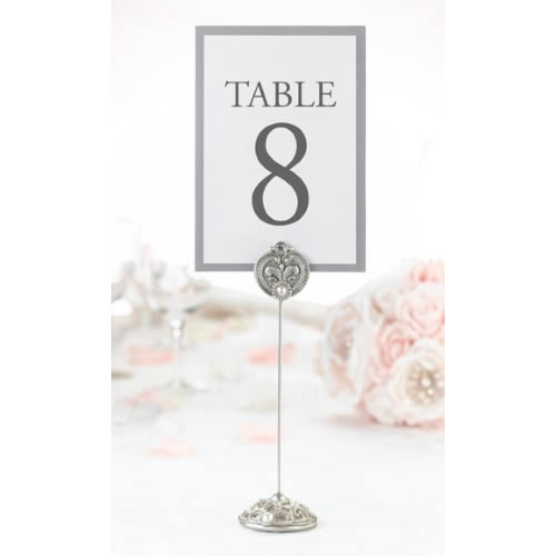 4 Jeweled Table Markers200  Weddings