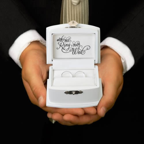 Ring Bearer Wedding Rings Box200  Weddings