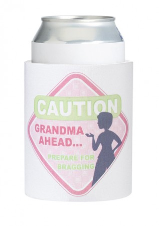 Grandma to Be Cup Cozy baby shower favors