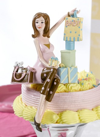 Mommy to Be Cake Topwholesale/24CT500_____.L.jpg Wedding Supplies