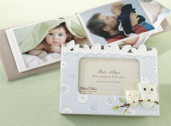 Blue Owl Photo Albumwholesale/24PH210__2OB.L.jpg Wedding Supplies