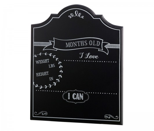 Baby Monthly Chalkboard Sign baby shower favors