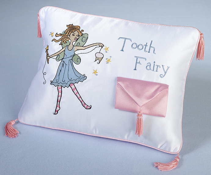 Baby Teeth Tooth Fairy Pillow baby shower favors