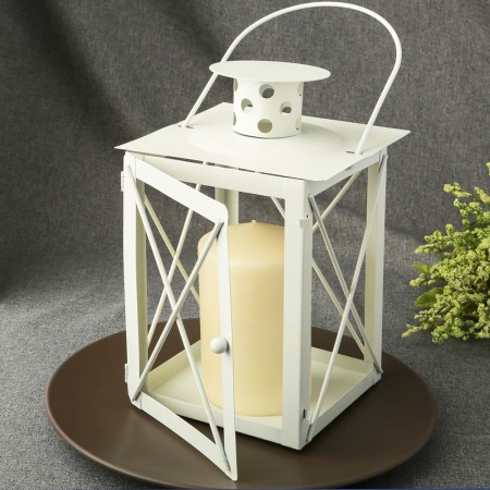 CLEARANCE 9 1/4 Tall Lantern table centerpiece baby shower favors