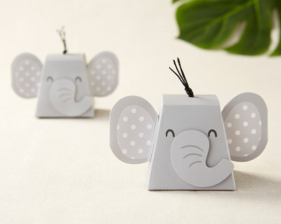 ELEPHANT FAVOR BOX (SET OF 12)  Weddings