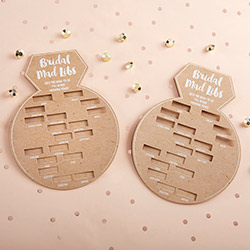 BRIDAL SHOWER GAME CARD - RING SHAPE (SET OF 50)wholesale/28441NA-1-ka-s.jpg Wedding Supplies