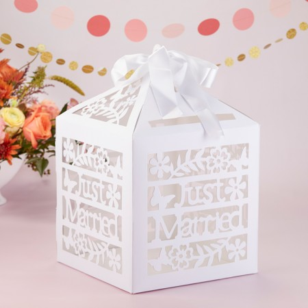 JUST MARRIED BIRDCAGE CARD BOXwholesale/28468NA-1-l.jpg Wedding Supplies