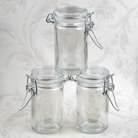 APOTHECARY JAR FAVOR 3.5 ounce  Weddings