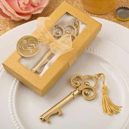 Gold vintage skeleton key bottle openerwholesale/4239lg.jpg Wedding Supplies