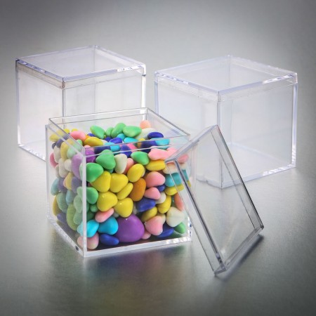 SQUARE ACRYLIC BOXwholesale/5138lg.jpg Wedding Supplies