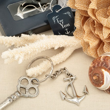 Anchor Key Chain Favorwholesale/5251lg.jpg Wedding Supplies