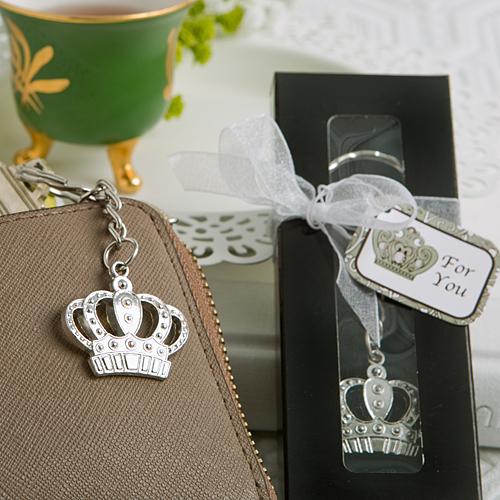 Majestic Crown Key Chain Favorwholesale/5253lg.jpg Wedding Supplies