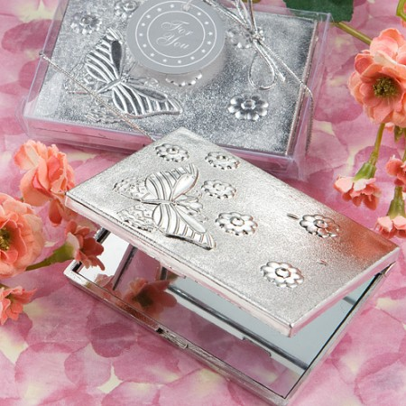 Butterfly Design Compact Mirrorwholesale/5918.jpg Wedding Supplies