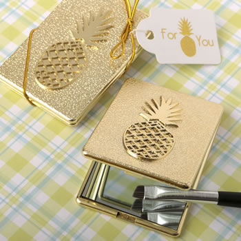 Pineapple Themed Compact Mirror200  Weddings