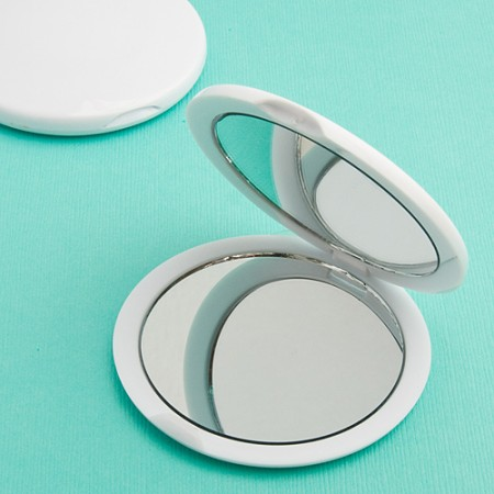 Plain Compact Mirror Favorswholesale/6705lg.jpg Wedding Supplies