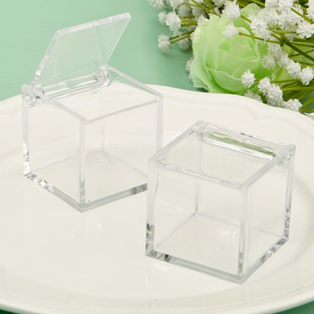 Acrylic Box From The Perfectly Plain Collectionwholesale/6772lg.jpg Wedding Supplies