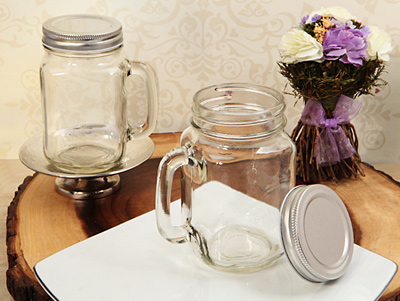 Rustic Mason Jar Favor Clear 16 Ozwholesale/700.jpg Wedding Supplies