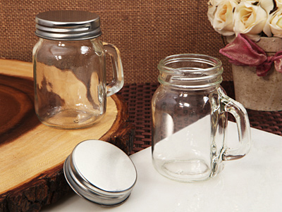 Vintage Mason Jar Favor Clear 5 Ozwholesale/705.jpg Wedding Supplies