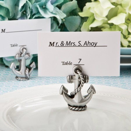Nautical Anchor Place Card / Photo Holder200  Weddings