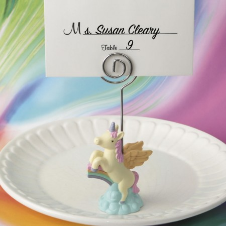 ON TREND UNICORN PLACE CARD HOLDERwholesale/8884lg.jpg Wedding Supplies