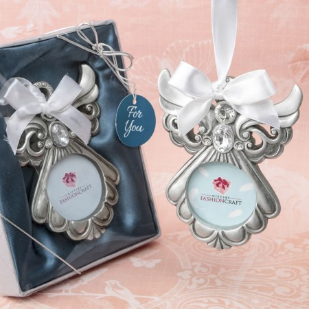 ANGEL ORNAMENT WITH PICTURE FRAME  Weddings