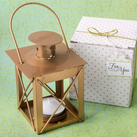 Love lights the way luminous lantern in a matte gold finishwholesale/8897lg.jpg Wedding Supplies