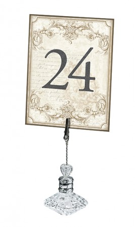 Vintage Gold Table Numbers (1-24)200  Weddings