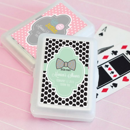 Baby Shower Playing Cards Favors baby shower favors