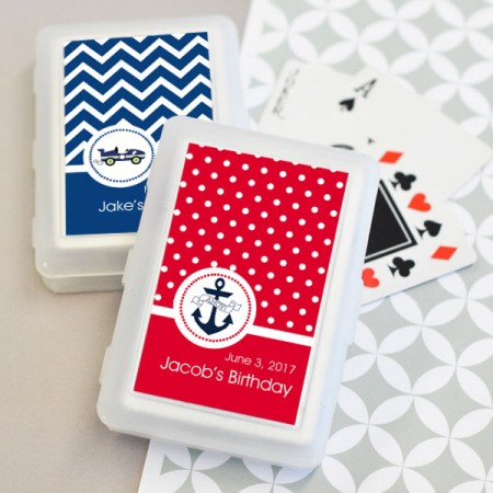 MOD Pattern Kids Birthday Deck of Playing Cards - Wholesale Favors200  Weddings