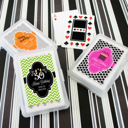 Personalized Birthday Playing Cards  - Wholesalewholesale/EB2033YZ_large1.jpg Wedding Supplies