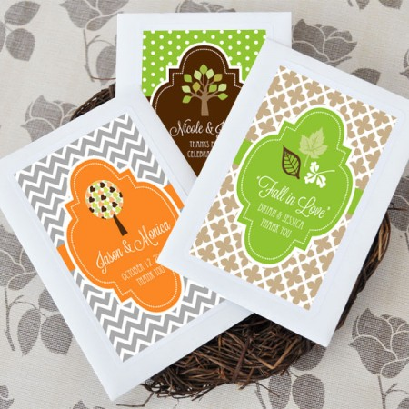 Fall for Love Personalized Wildflower Seeds200  Weddings