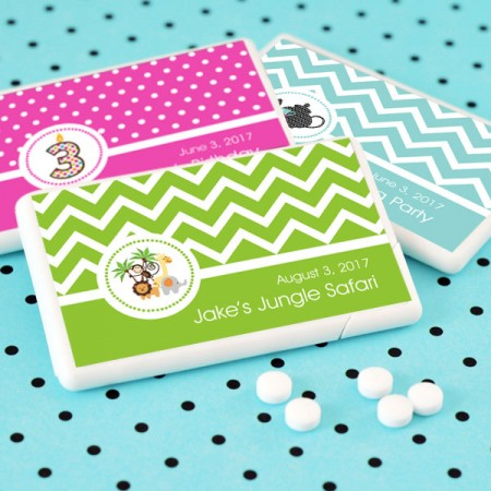 Childs Birthday Party Personalized Mini Mint Favorswholesale/EB2211MDKZ_large1.jpg Wedding Supplies