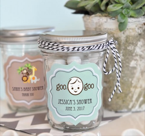 Baby Shower Mini Mason Jars  - Wholesale baby shower favors