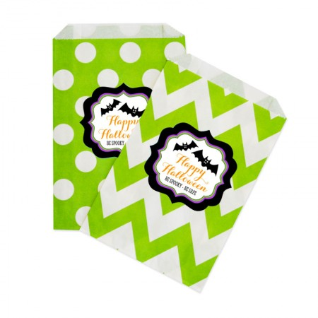 Personalized Spooky Halloween Goodie Bags Set of 12200  Weddings