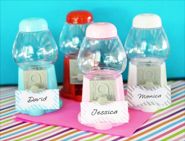 Mini Gumball Machine Place Card Holderswholesale/EB2380_large1.jpg Wedding Supplies