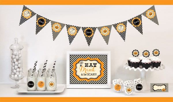 Halloween Party Decorations Starter Kitwholesale/EB4000CHLWN_large1.jpg Wedding Supplies