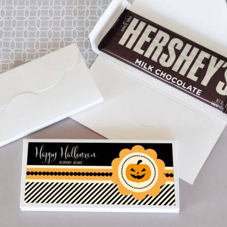 Personalized Halloween Candy Bar Wrapper Covers200  Weddings