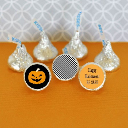 108 Hershey's® Kiss Halloween Stickers - Personalized200  Weddings