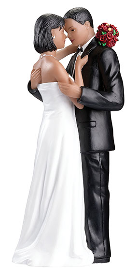 NEW African-American Couple Figurinewholesale/F984______A__L.jpg Wedding Supplies