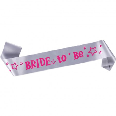 Bride to Be Sash - Bachelorette Party  Weddings